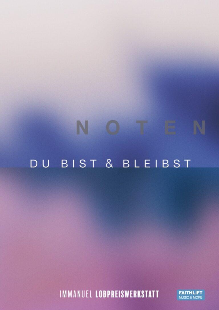 Noten (PDF) Du bist und bleibst  – 12 Songs